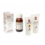 Peeling chimic , crema post tratament 50 ml. & Protectie solara 50 ml.