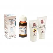 Peeling chimic pt. tonifiere , crema post tratament 50 ml & protectie solara 50 ml