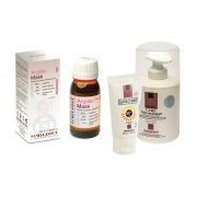 Peeling chimic pt.cearcane, Crema cicatrizanta 300 ml & Protectie solara 50 ml