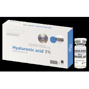 Fiole cu acid hialuronic 3 % - 5 x 5 ml. Simildiet